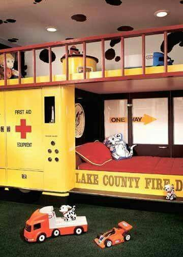 Perfect Firefighter Bedroom