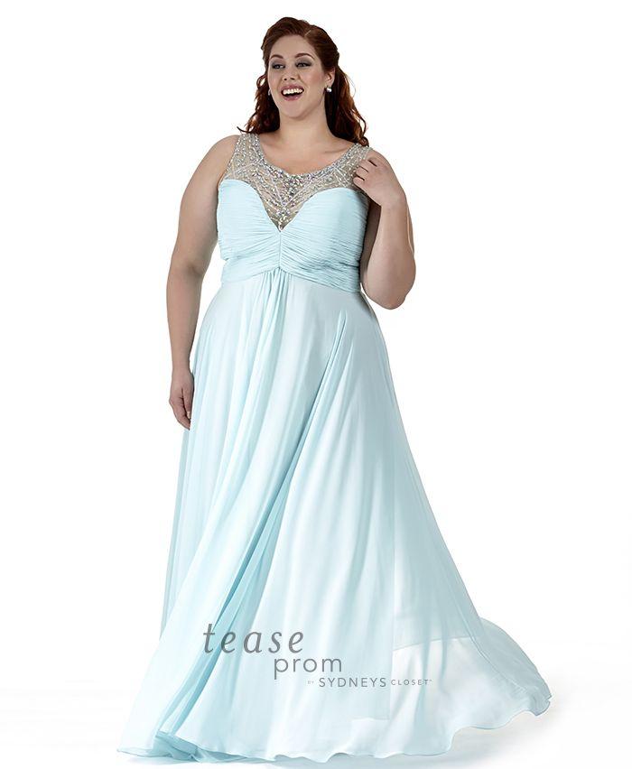 124 best Plus Size Prom Dresses images on Pinterest   Big