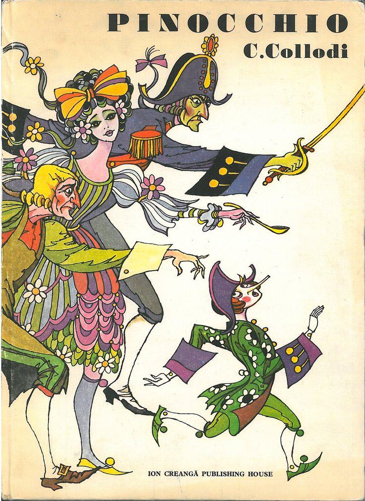 PINOCCHIO (1983) Illustrazioni/Ilustration: Val Munteanu