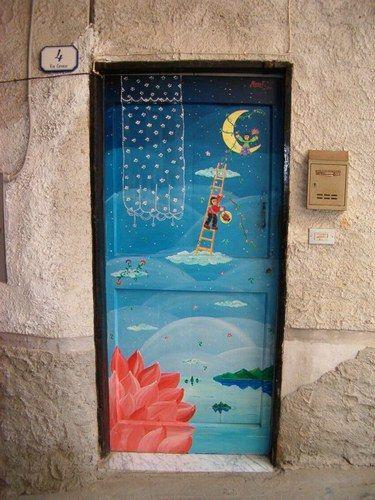Oltre 25 fantastiche idee su porte dipinte su pinterest for Porte francesi della fattoria