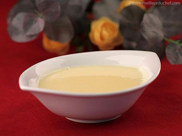 Crème anglaise - Notre recette avec photos - facile à réaliser - Meilleur du Chef