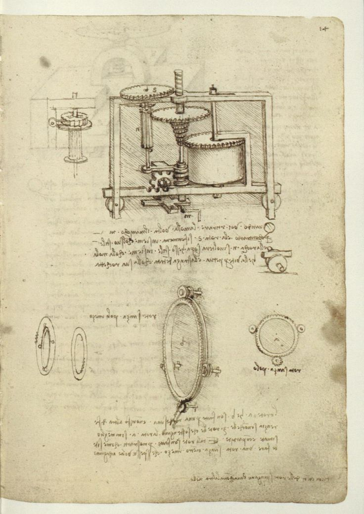 Leonardo Da Vinci Inventions: Kinematic Models (from Codex Madrid I : The  Madrid Codices: National Library Madrid, Lib.  Leonardo Da Vinci Resume