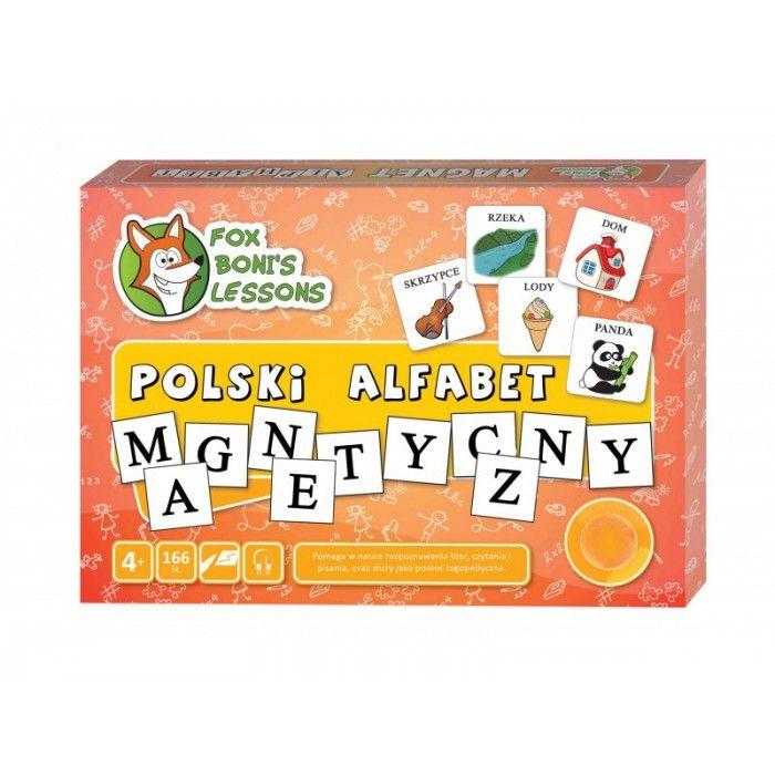 Polski Alfabet Magnetyczny - Lekcje Liska Boni