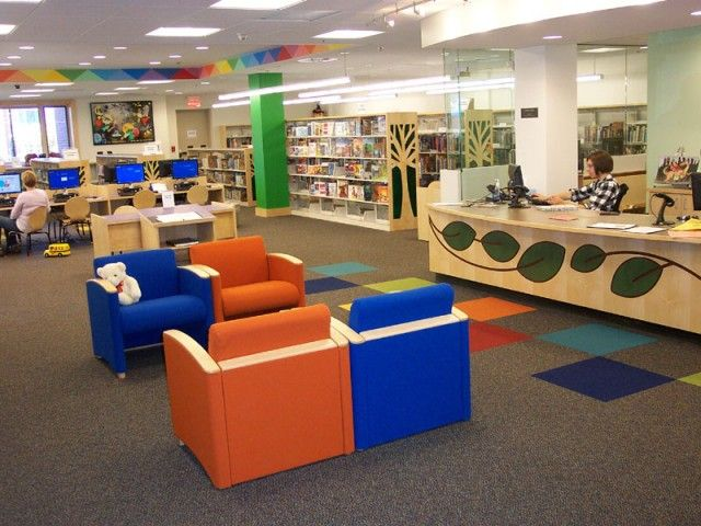 Children s Library Furniture. 91 best Library learning commons images on Pinterest