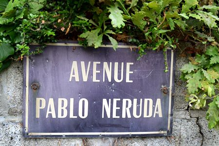 avenida Pablo Neruda. Douarnenez. Francia