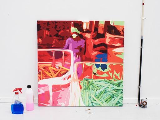 En los años setenta IKEA vendía reproducciones firmadas de los cuadros de Lars Norrman. Con un estilo colorido e inocente, pintaba a mujeres trabajando. Los cuadros IKEA PS 2012 hablan de nuestra forma de trabajar, pero también del grandioso y colorido mundo que nos rodea.