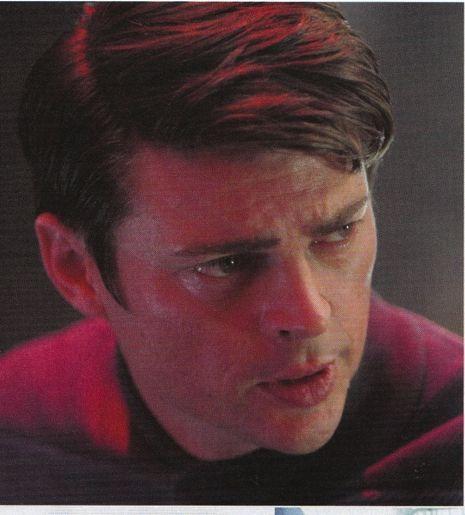 Karl Urban as Bones McCoy in Star Trek (2009)