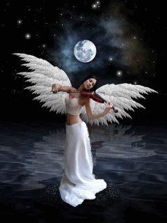 Si los ángeles no existieran no existiría   el amor, el que no cree en los ángeles   no cree en el creador, dios a creado e...