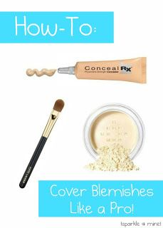 Blogger shares her tips and tricks for covering up ANY pimple! This post seriously changed the way I do my makeup. Pin now- you'll thank yourself later!