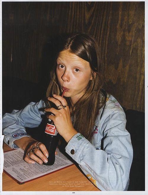 Mia Goth Dazzles in Wonderland Magazine (Sept/Oct '13 ...