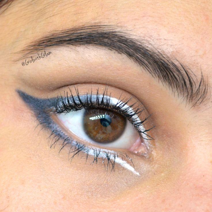 #eyeliner #graphicliner #makeup #motd #eotd #gelliner