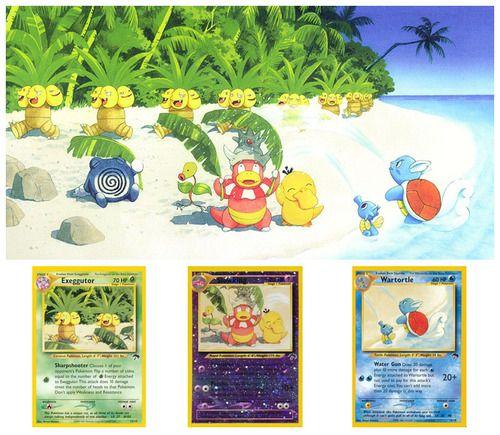Pokemon Tcg Southern Island Collection Part 2 Illustrated By Naoyo Kimura And Keiko Fukuyama