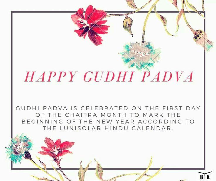 #beekayenterprises wishes a #happygudhipadva