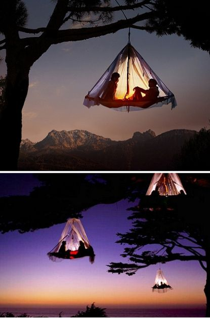 For those of you who would like to try something a bit different this Valentine's Day, how about sunset tree camping on top ofa Bavarian ...