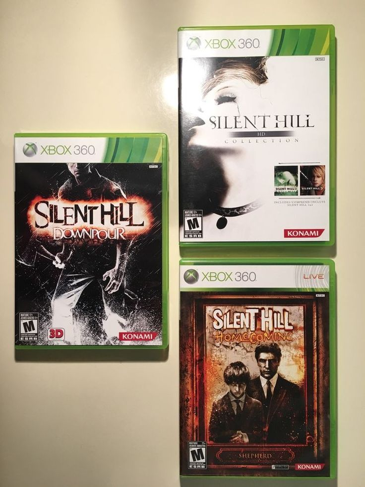 Silent Hill Game Lot - Homecoming, HD Collection, Downpour (Microsoft, Xbox 360): $59.99 End Date: Monday Mar-12-2018 13:35:06 PDT Buy It…