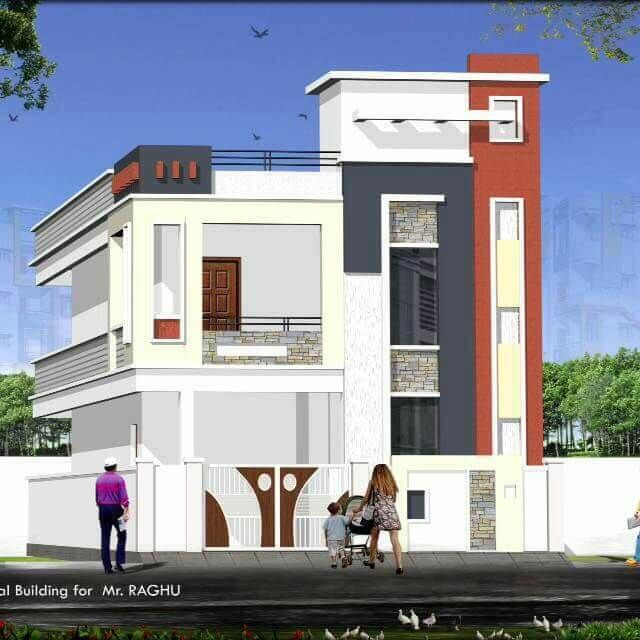 Quality Houses In Hyderabad Small House Elevation Design Architectural House Plans Duplex House Design