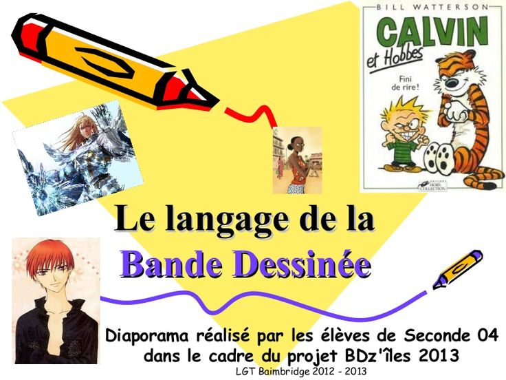 Diaporama réalisé par des élèves de secondes du LGT Baimbridge (Pointe-à-Pitre Guadeloupe) dans le cadre du projet BDz'îles 2013 inspiré des travaux de Patrick…