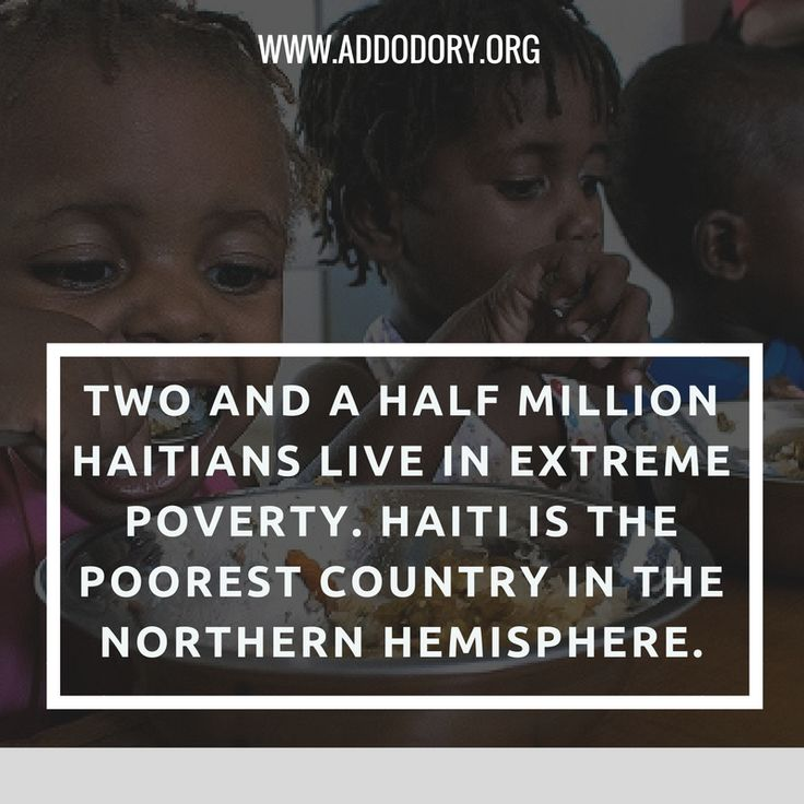 Many people live in #poverty. Especially in Haiti. Show them you care by donating here:  http://www.addodory.org/donations_info/ #Addo #Haiti #Poverty #charity #donation #love #help #giving