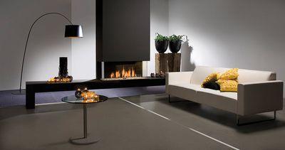 TRIPPLE Premium L foyer gaz de Faber: Série Triple Premium: Foyer encastrable à trois faces, sans cadre avec le Step Burner®… #InfoWebBTP