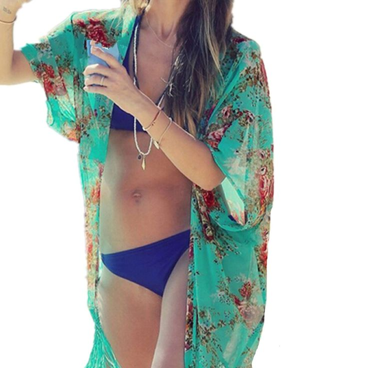 Beach Cover Up Swimsuit Bathing Suit Cover Up Kimono Beach Wear