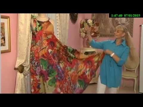 Как сшить летнее платье трансформер. Ольга Никишичева - YouTube