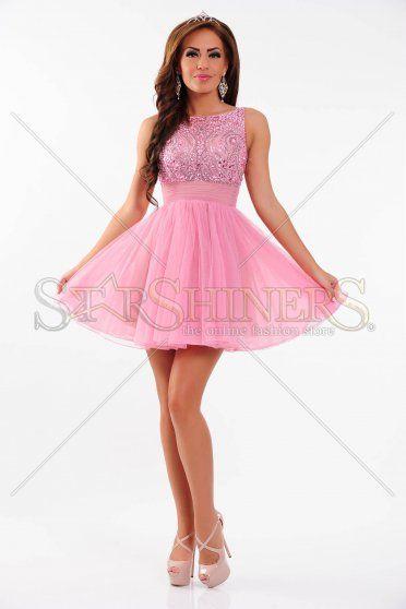Rochie Sherri Hill 11032 Pink