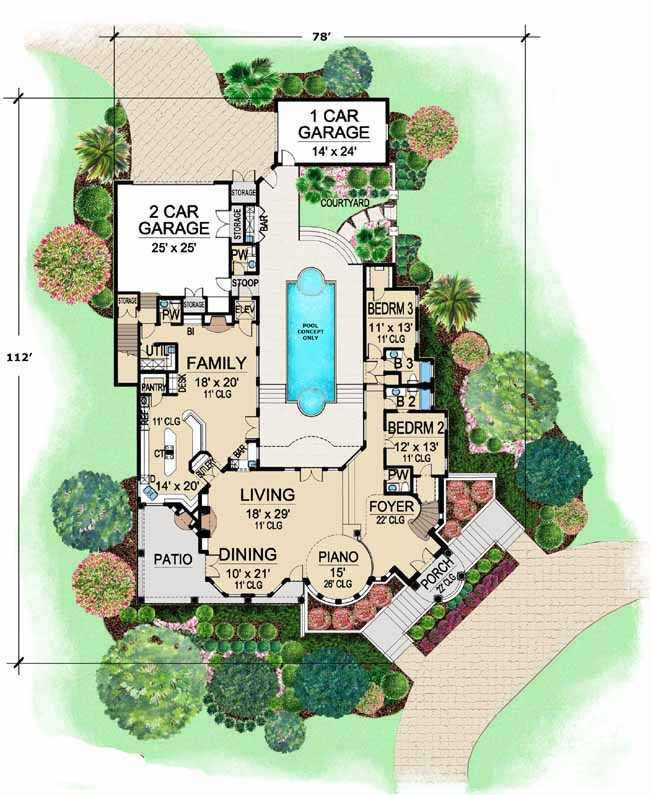 100 Best Floorplans Images On Pinterest Dream Home Plans
