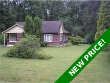 Maple Ridge House with Acreage for sale:  3 bedroom 1,150 sq.ft.