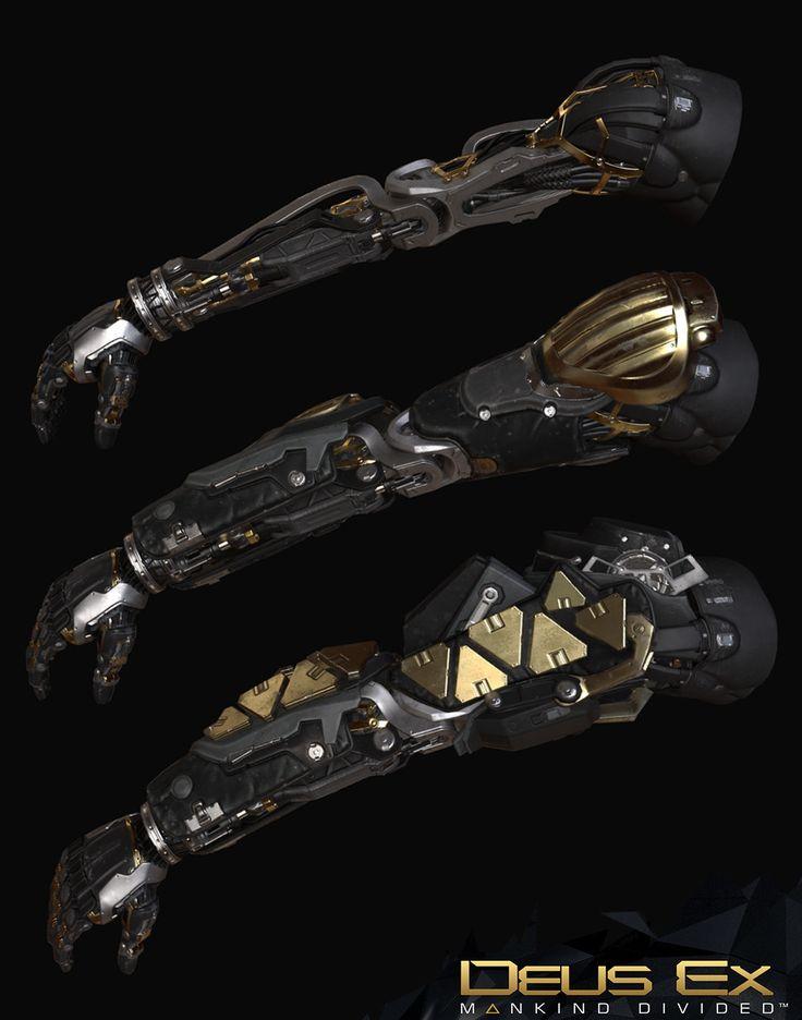 Deus Ex Mankind Divided : Arc Augs Game res, Frederic Daoust on ArtStation at https://www.artstation.com/artwork/5P3vz