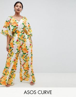 a066c709704 DESIGN Curve kimono jumpsuit with wide leg in fruit print