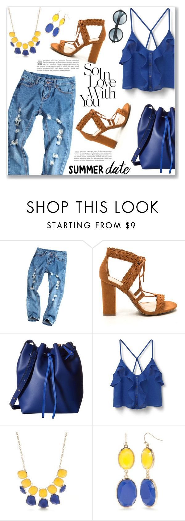 """""""Jeans 2!"""" by christinacastro830 ❤ liked on Polyvore featuring Gabriella Rocha, MANGO, New Directions and Tom Ford"""