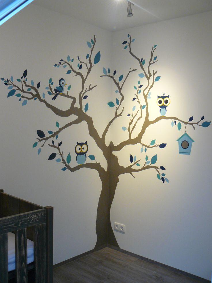 25+ beste ideeën over boom muurschilderingen op pinterest - boom, Deco ideeën