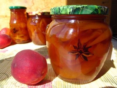 Персиковое варенье по-восточному : Варенье