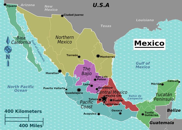 35 Best Go Maps Mexico Images On Pinterest My World: Map Of Mexico Showing Puebla At Infoasik.co