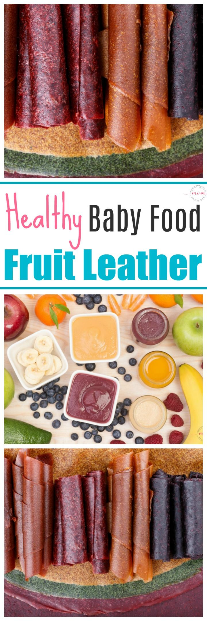 Uses for leftover baby food! Baby food fruit leather recipe. Super easy and healthy toddler snack idea!