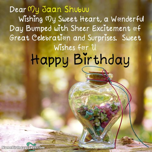 I have written my jaan shubuu Name on Cakes and Wishes on this birthday wish and it is amazing friends, hope you will like it. Visit this website and write your own name.