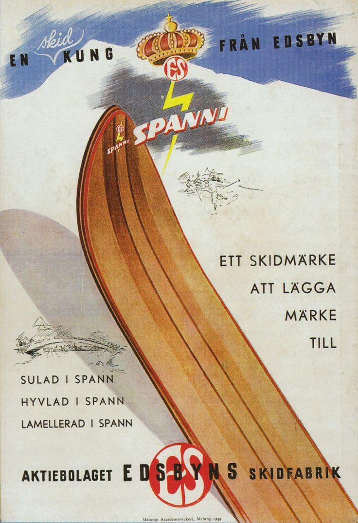 Furniture production has always been our core business, even though Edsbyverken was known for a long time as one of the worlds major ski manufacturers. #edsbynoffice #edsbynclassic #edsbyn #advertising #Ski