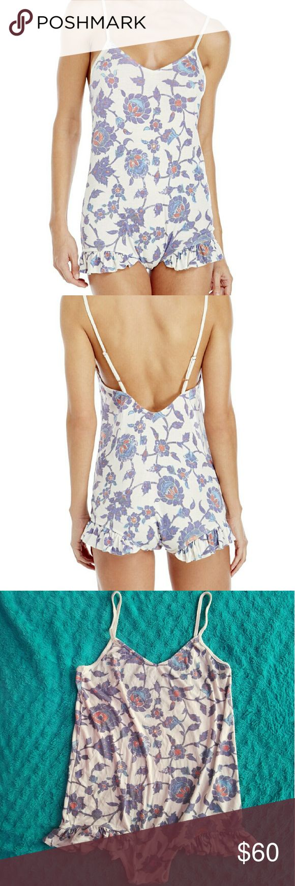 Wildfox Mosque Ruffle Romper New without tags, only tried on. I would recommend for short torso ladies as the midsection of this particular cut is pretty short for a romper. Wildfox Intimates & Sleepwear
