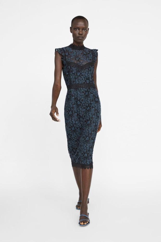 2fa4117a Haljina, Zara - 299,90 kn   Haljine in 2019   Dresses, Lace slip ...