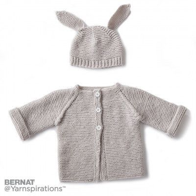 Knitting Patterns Galore - Baby Jacket Set