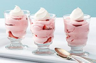 Easy Strawberry Mousse