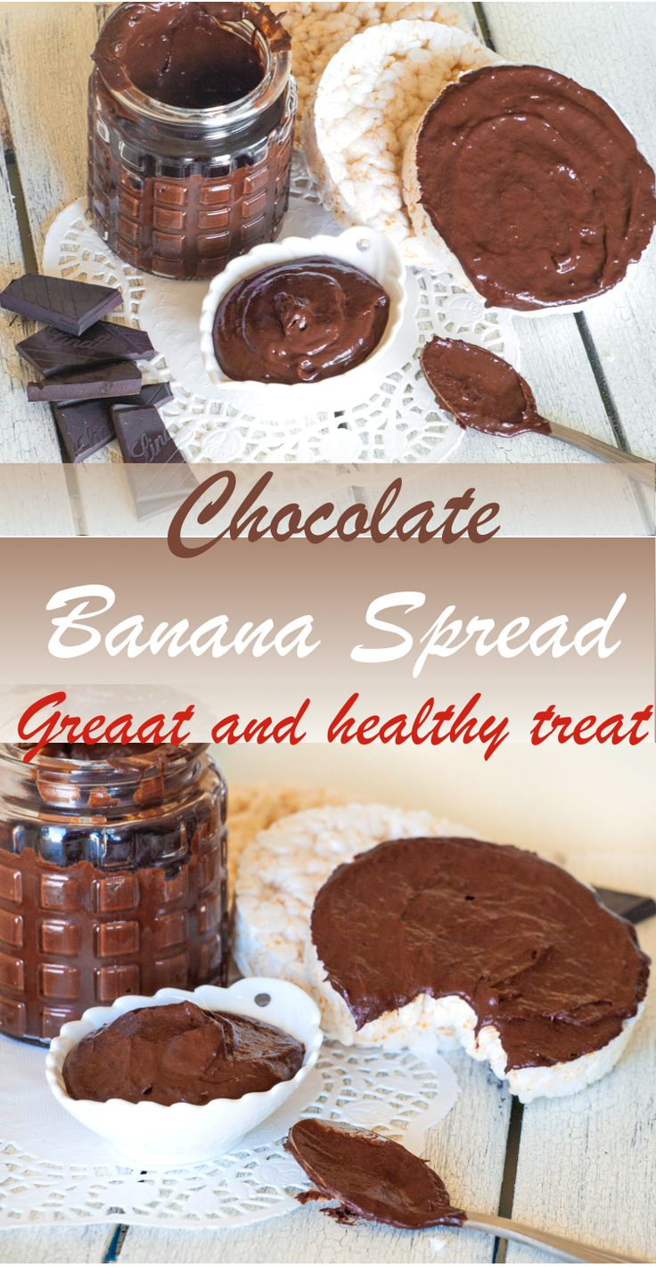 Jun 22, 2020 – This Chocolate Banana Spread recipe is a great way to have your breakfast, heart-healthy snack or dessert…