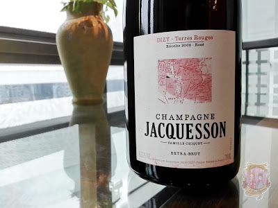 Champagne Jacquesson Dizy Terres Rouges Extra Brut 2008 #champagne #jacquesson #dizy #sparklingwine #rosechampagne #extrabrut #frenchwine #france #oldworld #deadlychubby