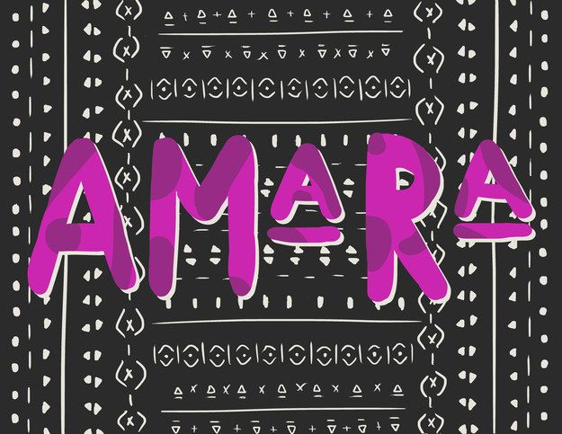 Amara (a-MAHR-a)   19 Pretty African Baby Names That May Make You Want To Conceive
