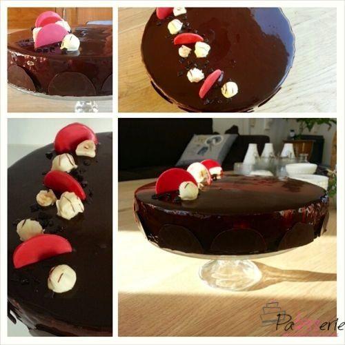 chocolade bavarois, praline, taart, patesserie.com