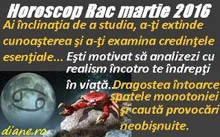 diane.ro: Horoscop Rac martie 2016