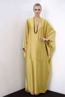 Kaftans were all the rage in the late 60s. They were extremely comfy and looked terrific.