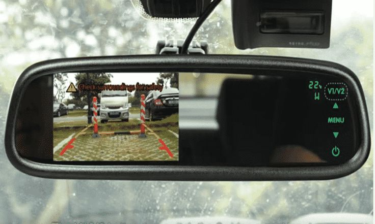 AUTO VOX Wireless Backup Camera Kit with HD Rearview Mirror Monitor and IP 68 Waterproof LED Super Night Vision License Plate Rear View  #dashcam #reardashcam #carcamera