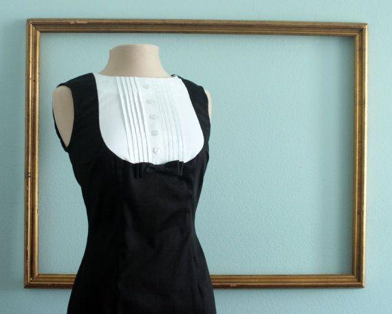 mariage robe smoking style rétro robe de par MichyLouDotCom sur Etsy, $160.00