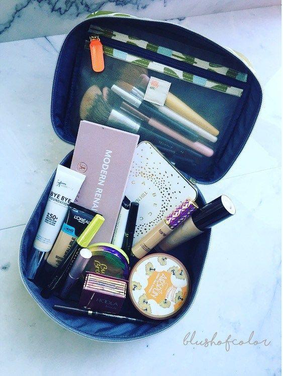 Travel makeup bag: how to